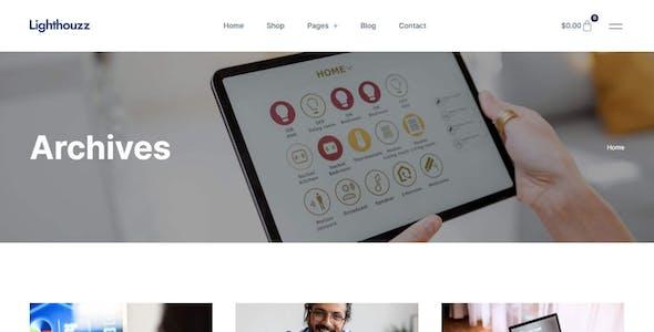 Lighthouzz – Smart Home & Security Elementor Template Kit