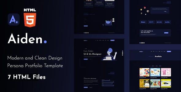 Aiden - Creative Portfolio Html Template