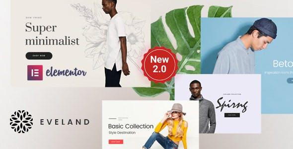 Eveland – Modern AJAX enabled WooCommerce theme