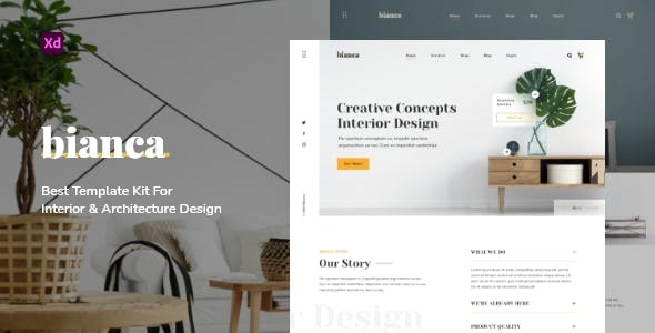 Bianca - Architecture & Interior Website Template
