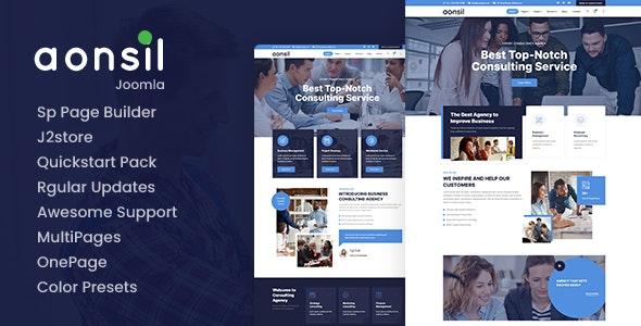 Aonsil - Responsive Multipurpose Joomla Template - Business Corporate