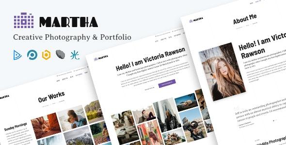 Martha | Creative Portfolio Joomla Template - Photography Creative