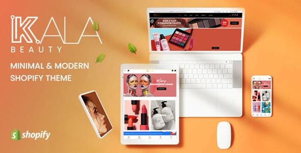 Kala Beauty - Mobile Optimized Responsive Shopify Theme - Health & Beauty Shopify