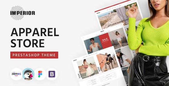 Imperior - Clean Apparel Store PrestaShop Theme - Fashion PrestaShop