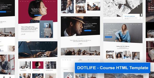 DotLife | Course HTML Template - Corporate Site Templates