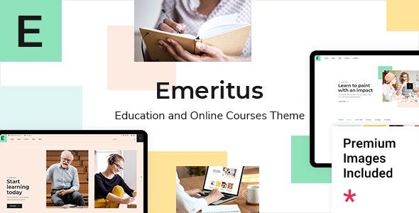 Emeritus - Education and Online Courses Theme - Education WordPress