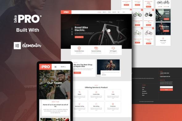 BikePro - WooCommerce Elementor Template Kit - Shopping & eCommerce Elementor