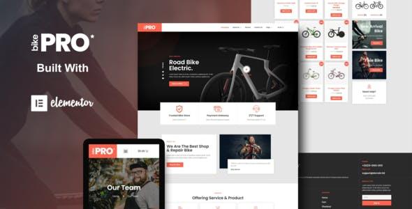 BikePro - WooCommerce Elementor Template Kit