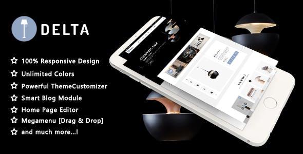 Delta - Creative Furniture and Decor Responsive PrestaShop 1.7 Theme