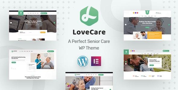 Lovecare - Senior Care WordPress Theme - Health & Beauty Retail