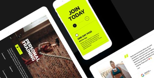 F7 - Fitness Gym WordPress