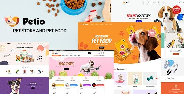 Petio – Pet Store WooCommerce WordPress Theme - WooCommerce eCommerce