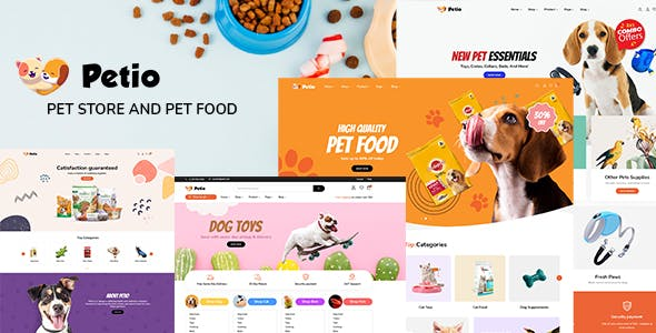 Petio – Pet Store WooCommerce WordPress Theme