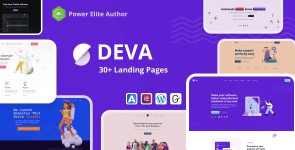 Deva - Landing Page