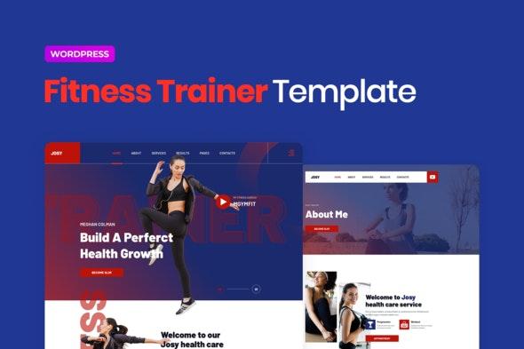 Josy – Sport & Fitness Elementor Template Kit - Sport & Fitness Elementor