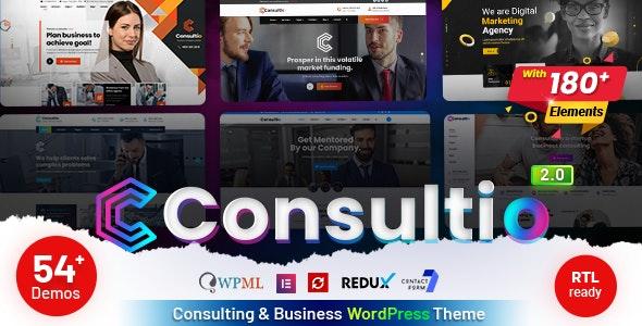 Consultio v2.0.1 – Consulting Corporate