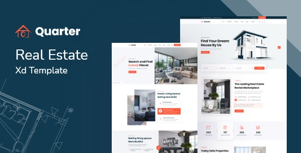 Quarter - Real Estate XD Template - Business Corporate