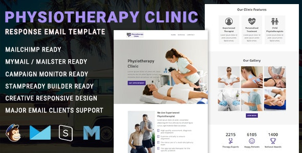 Physiotherapy - Responsive Email Newsletter Template - Newsletters Email Templates
