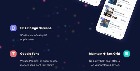 Eduzone - Education App UI Kit