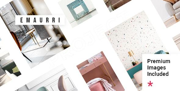 Emaurri - Architecture and Interior Design Theme - Portfolio Creative