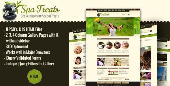 Spa Treats - Health, Salon HTML - Health & Beauty Retail