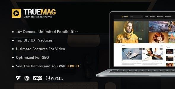 True Mag - WordPress Theme for Video and Magazine