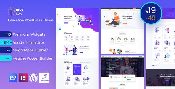 Bisy - Education WordPress Theme - Education WordPress