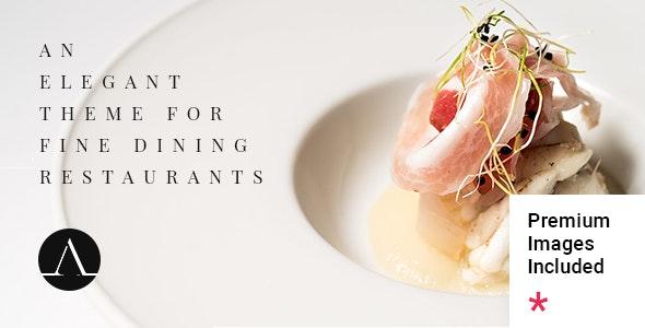 Attika - Elegant Restaurant Theme - Restaurants & Cafes Entertainment