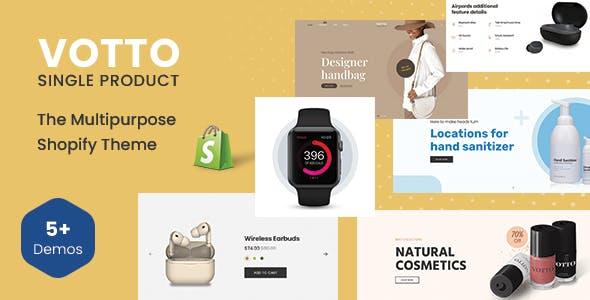 Votto - The Single product Multipurpose Shopify Theme