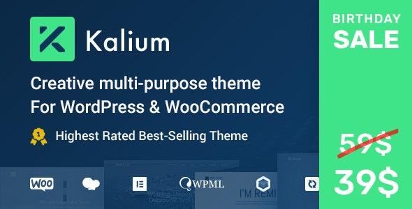 Kalium - Creative Multipurpose Theme for WordPress and WooCommerce - Portfolio Creative