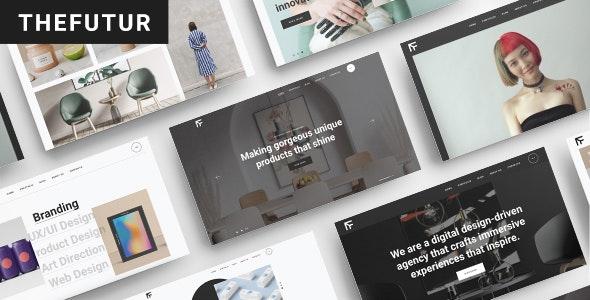 TheFutur - Creative Portfolio & Agency Theme - Portfolio Creative
