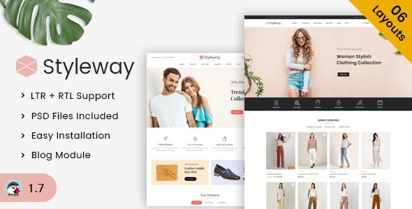 Styleway - Trendy Online Fashion Prestashop 1.7 Responsive Theme