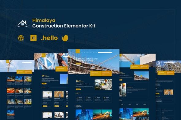 Himalaya - Construction Elementor Template Kit - Real Estate & Construction Elementor