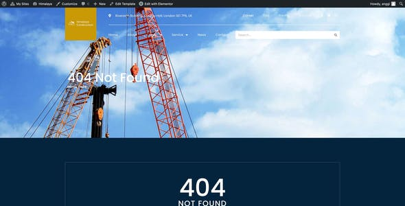 Himalaya - Construction Elementor Template Kit
