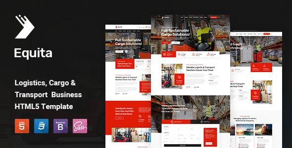 Equita - Logistics Cargo HTML Template
