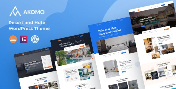 Akomo | Resort and Hotel WordPress Theme
