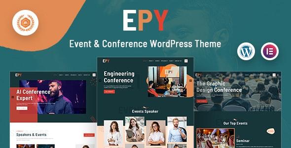 Epy | Event Conference WordPress Theme - Events Entertainment