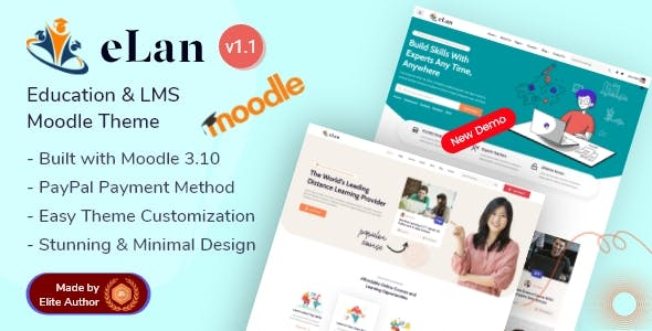 Elan - Education & LMS Premium Moodle Theme