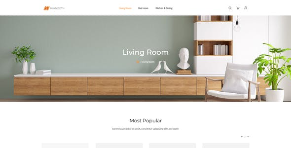 Maynooth - Furniture Ecommerce Website