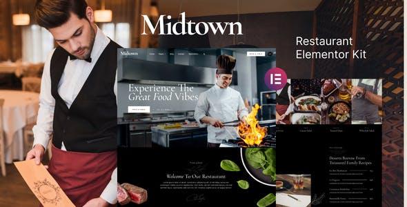 Midtown – Restaurant Elementor Template Kit