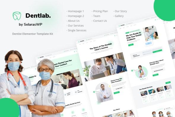 Dentlab | Health & Medical Elementor Template Kit - Health & Medical Elementor