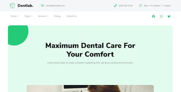 Dentlab | Health & Medical Elementor Template Kit