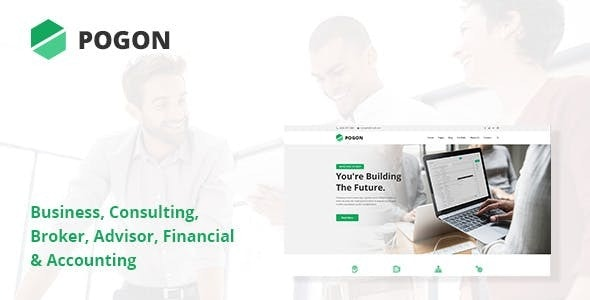 Pogon v1.0.7 – Business and Finance Corporate WordPress Theme