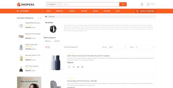 Shopexa Fashion Responsive OpenCart 3 Theme