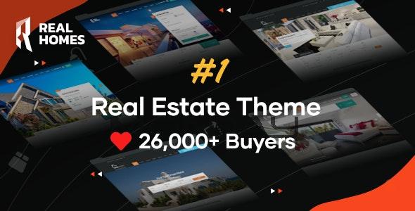 RealHomes - Estate Sale and Rental WordPress Theme - Real Estate WordPress