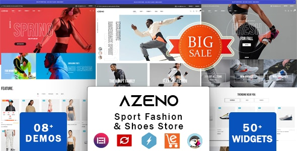 Zeno - Shoes Store & Sports Fashion Shop - Fashion PrestaShop