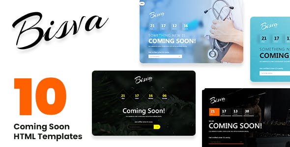 Besiva - Multipurpose Coming Soon HTML-Bootstrap Template