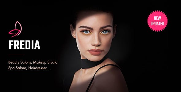 Fredia - Makeup Artist, Model & Beauty Template
