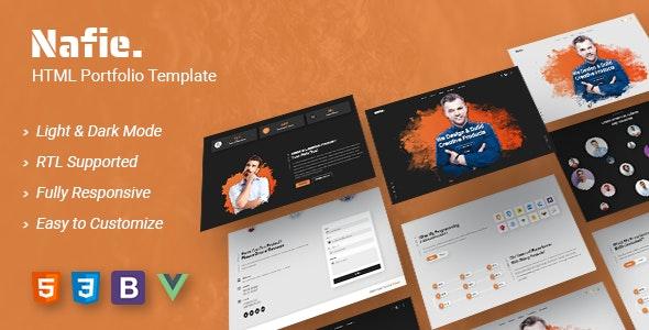 Nafie - HTML Portfolio Template - Portfolio Creative