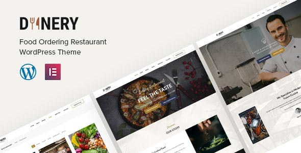 Dinery   Food Delivery Restaurant WordPress Theme